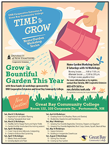 Time to Grow 2014 flyer