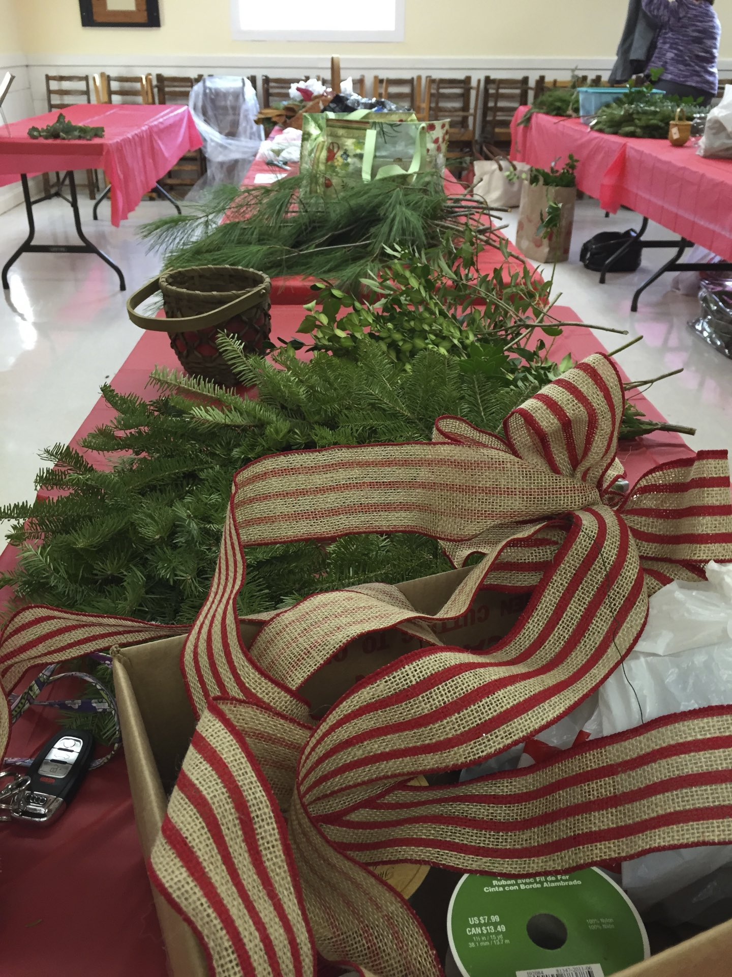 Annual Agc Wreath Workshop Photos The Amherst Nh Garden Club