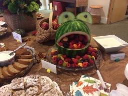 Frog Fruit Salad Bowl