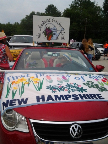 car w sign and banner