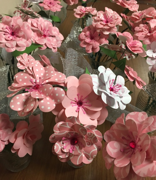 Stunning results from latest paper flower workshop the amherst nh stunning results from latest paper flower workshop mightylinksfo