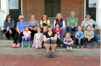 Brick School team and the Daisies (May 2018)